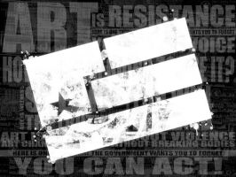 Art Is Resistance - Year Zero by Stillbored