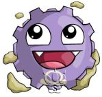 Koffing Chibi by RedPawDesigns