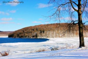 Winter on Lake Arthur by GlassHouse-1