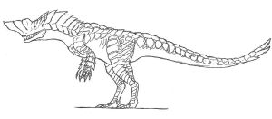 MHE Barroth by KitWhitham