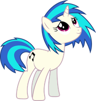 Vinyl Scratch - 'Beautiful!' by DJDavid98