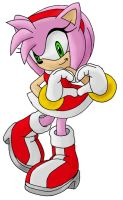 Amy Rose Painting by nothing111111