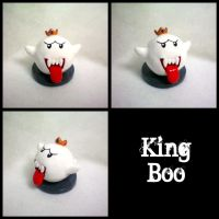 King Boo Figure by stevoluvmunchkin