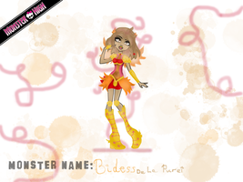 Monster High Entry: Bidess De La Purei by Asuna---Chan