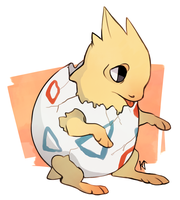 Togepi by Susiron