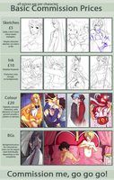 Commission Prices + Examples by Emily-Fay