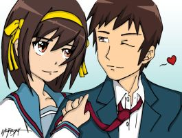 The Love of Haruhi Suzumiya by BeeniAktor