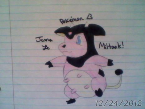 Miltank - Pokemon Silver, Gold - Generation 2 by Sappires1001