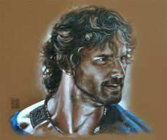 Eric Bana 6 - Hector - TROY film 2004 by dmkozicka