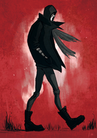 I walk a lonely road by radacs
