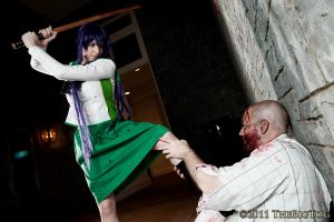 High School of the Dead - Off With His Head by EveilleCosplay