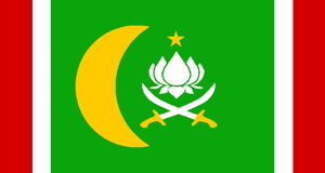 Mughal Empire flag by iCaramello