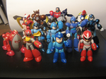 The Bandai Model Collection by ProfessorMegaman