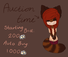 Auction time - OLD FURSONA by MissingBullets
