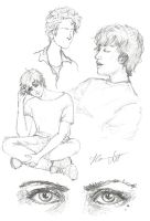 Christopher (Sketch dump) by Hanna-Victoria