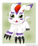 Gomamon by Isi-Daddy