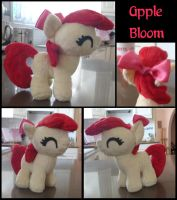 MLP: Apple Bloom Plush by ChibiTigre