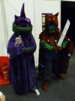 TMNT BTTS Super Quest - Leonardo and Donatello by ShojoSensei