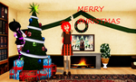 MMD MERRY CHRISTMAS by khftw