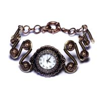 Neo Steampunk Watch Bracelet by CatherinetteRings