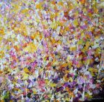 Flower painting June  2011 by zampedroni