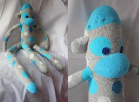 Master Sock Monkey by bicyclegasoline