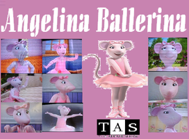Angelina Ballerina Collage by Shafty817