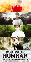 PSD PACK HunHan from EXO by EXOcytosises