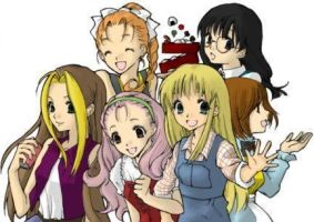 Harvest Moon Girls by AnimeLover124