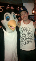 J-Dog... And a penguin. by FunnyScene