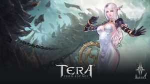 TERA High Elf Female Wallpaper by rendermax