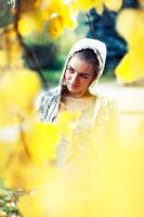 in yellow by alexciel