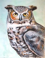 Great Horned Owl by munchengirl
