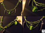 Green Fairys Heart:: Necklace by vaoni