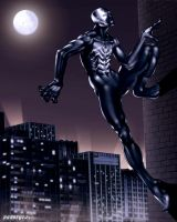 SPIDERMAN VENOM DE07STYLE by darkeyez07