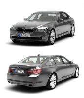2009 BMW 750li by melkorius