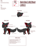 Dark-Star Ref Sheet 2015 by StarTheFluffyKitty