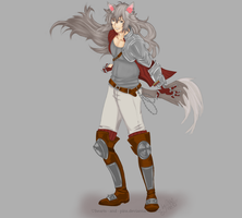 Rwby OC: Rufous Perrault by hearts-and-pins