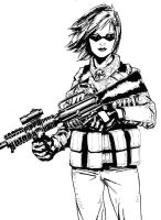 Female Solider by level-3