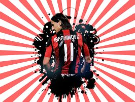 Zlatan Ibrahimovic - Wallpaper by me969