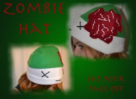 Zombie Nomnoms hat by mylifeline