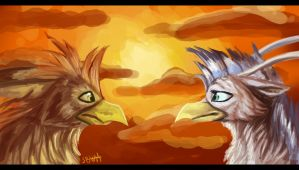 gryphons=D by Silverbloodwolf98