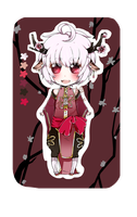 Adopt Auction: Plum blossom deer [CLOSED ] by purincu