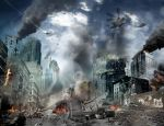 City Collapse - final picture (speed art project) by kyz