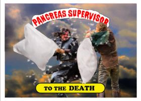 TO THE DEATH STICKER by PancreasSupervisor