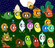 Plants Vs Zombies Cute Plants Part 6 by pokemonlpsfan