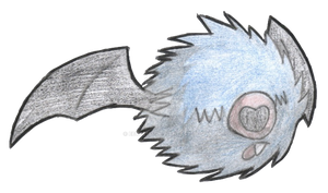 Giant Collab Entry: Woobat by Eevee164