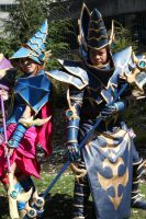 Dark Magician and DMG by Aether-Shadow