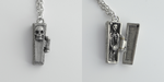 Tiny Coffin Necklace by MonsterBrandCrafts