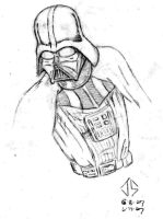 Sketch: Darth Vader - Revised by JasonShoemaker